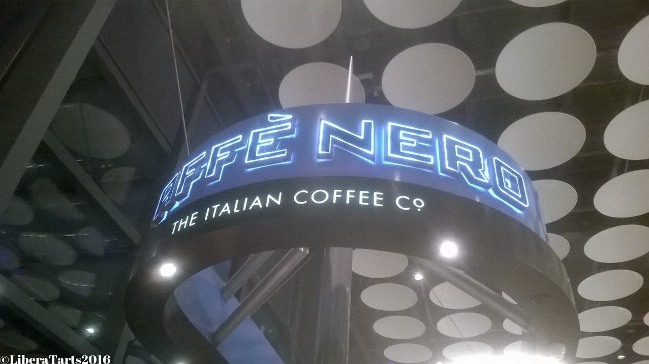 Cafe Nero at Heathrow Airport
