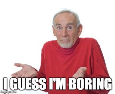 old guy shrugging meme