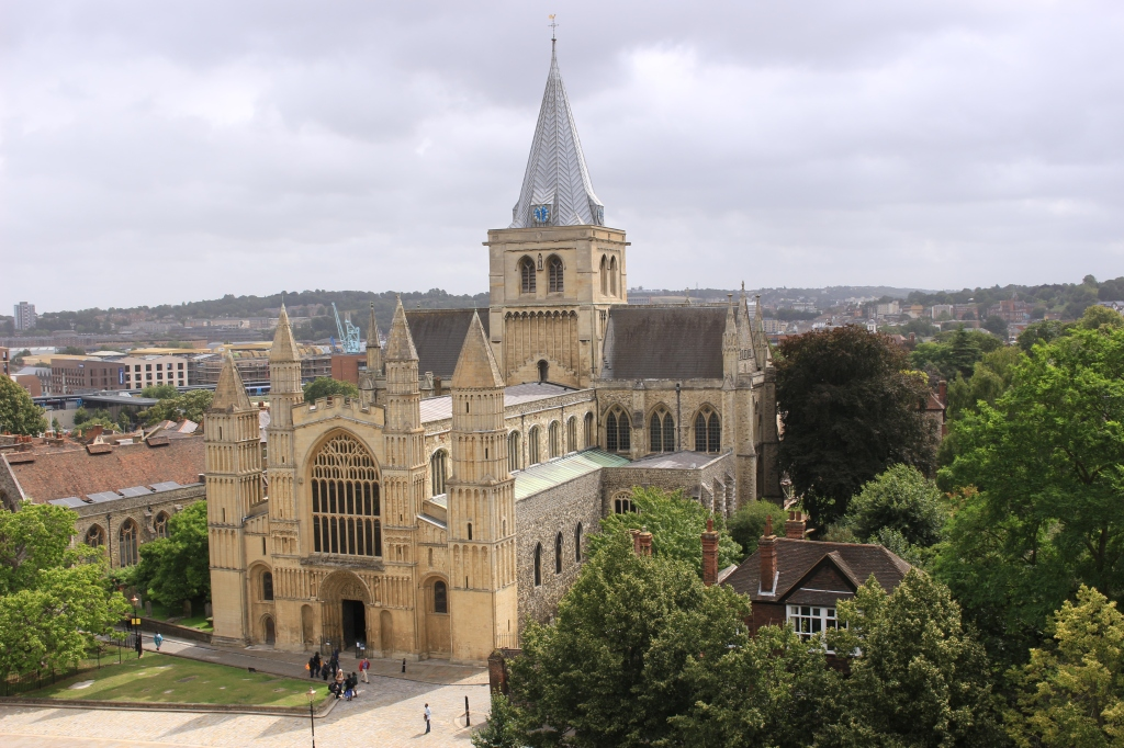view of Rochester Cathedral