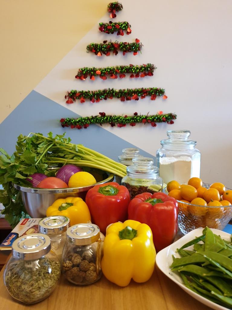 2020 Christmas dinner preparations